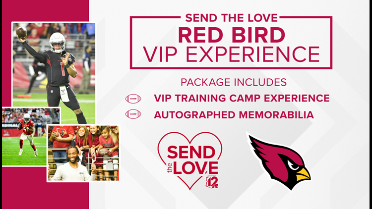 CONTEST ENDED SEND THE LOVE RED BIRD VIP EXPERIENCE