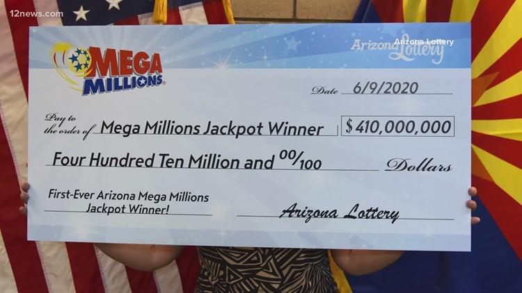 Glendale couple wins $410 million Mega Millions jackpot