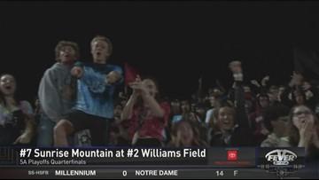 Williams Field advances