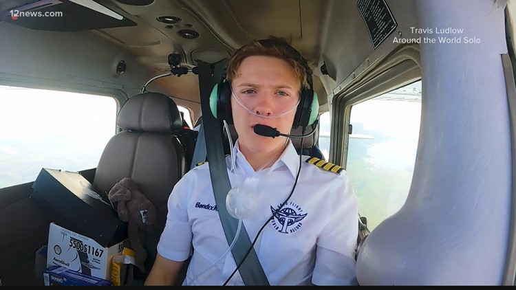 Teen pilot hoping to break world record trained at Deer Valley Airport