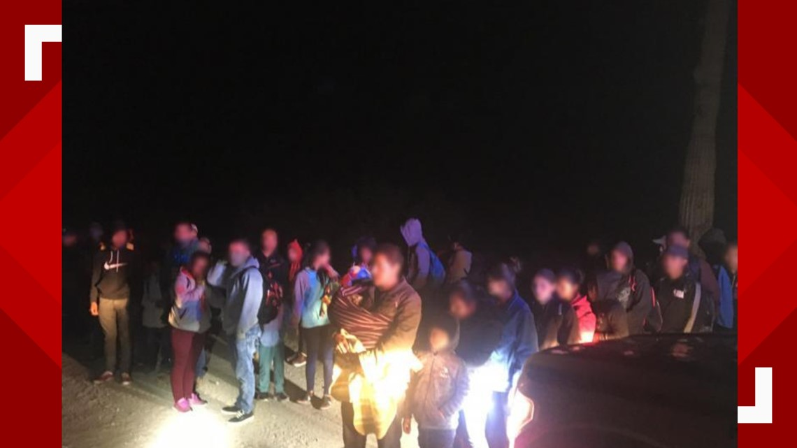 231 migrants surrender to Border Patrol south of Ajo