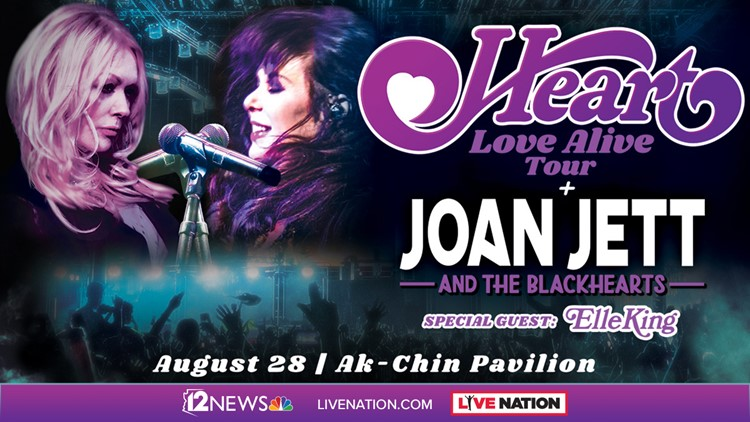 sweepstakes today new today in az heart joan jett sweepstakes 12news com 6521