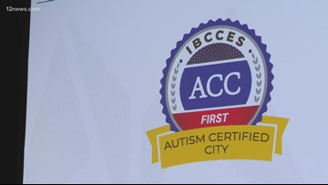 The first-ever Autism Certified City in the world is right here in Arizona!