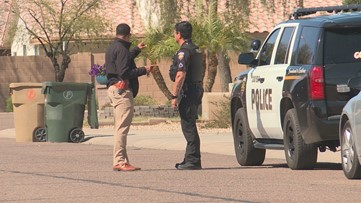 Goodyear police searching for man accused of assaulting teen on her way to school