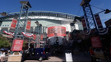 D-backs and Chase Field to implement clear bag policy in February