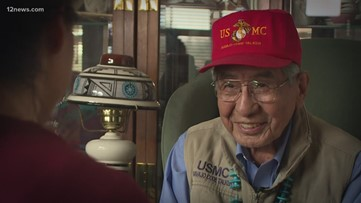 Navajo Code Talker remembers WWII and the code the enemy couldn't crack