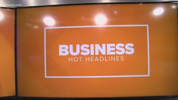 Business Hot Headlines: iPhone sales, Starbucks and romaine lettuce