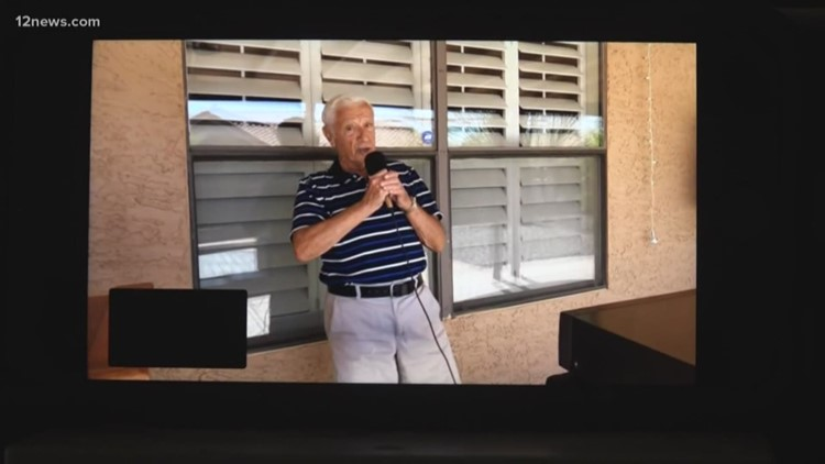 Backyard karaoke takes on new meaning for Ahwatukee man during quarantine
