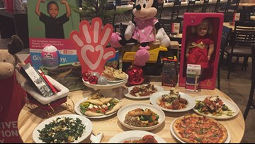 Babbo Italian Eatery collecting toys for Phoenix Children's Hospital