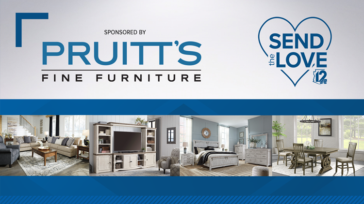 CONTEST ENDED:  Pruitt's Fine Furniture Send The Love Healthcare Hero
