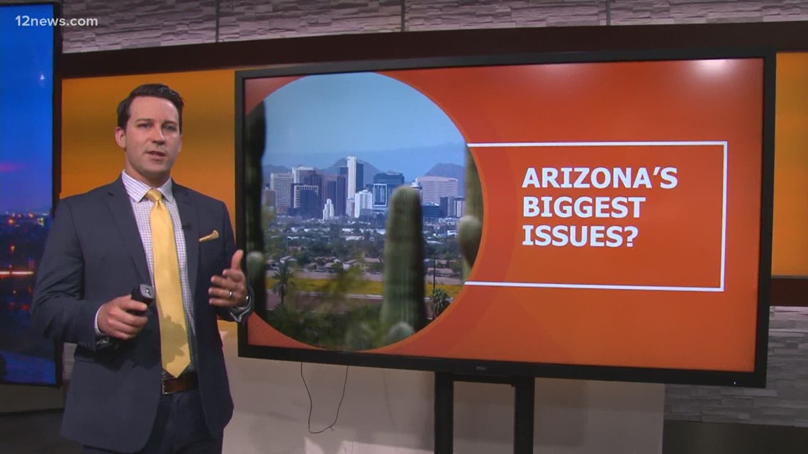 What are the biggest issues Arizona is facing?