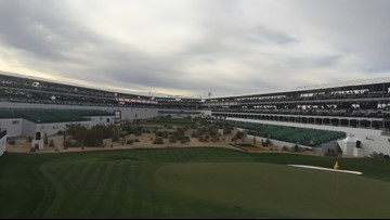 Rowdy fans sprint to 16th hole at Waste Management Phoenix Open