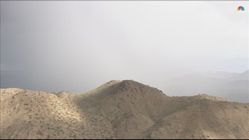 WATCH: Time lapse of storm developing in eastern parts of Maricopa Co.