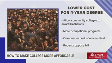Arizona's Big 3 universities could lose monopoly on 4-year degrees