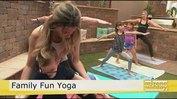 Free Kid and Family Yoga | 12news com