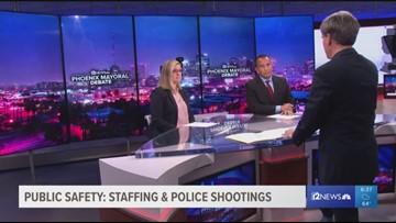 Phoenix mayoral candidates discuss public safety