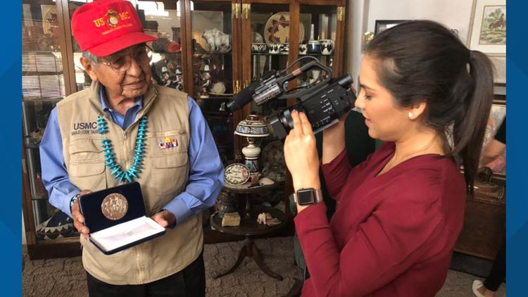 Navajo code talker peter macdonald