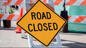Phoenix street closed due to cooking grease or oil spill