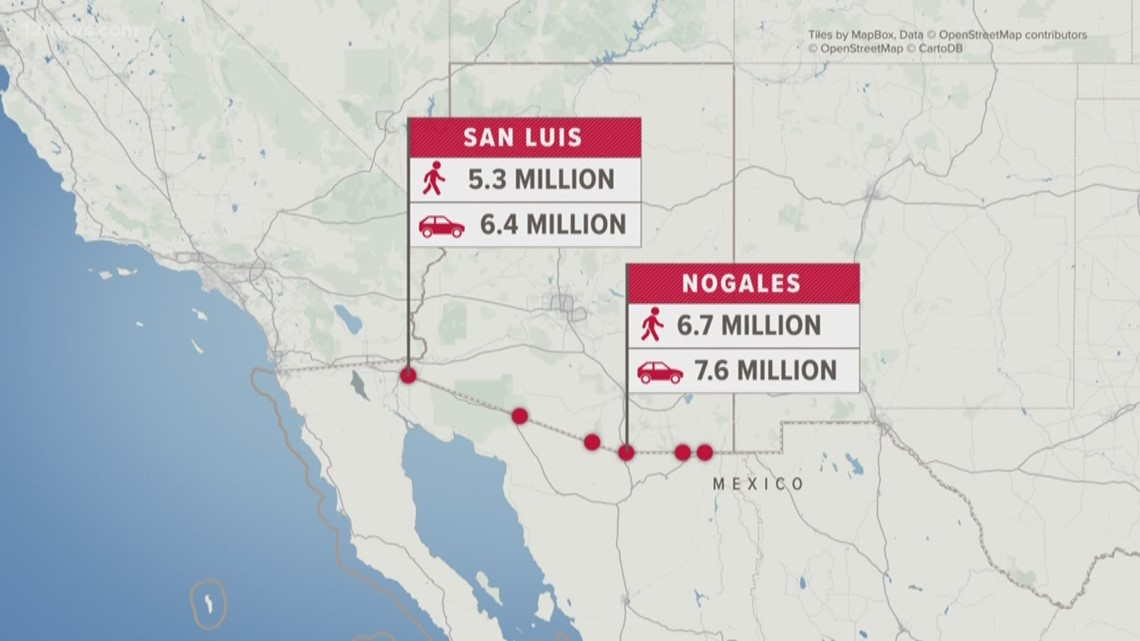 Is the US-Mexico border slowing down or shutting down? Here's how to check