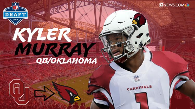 half off e0037 3050f Arizona Cardinals select Oklahoma quarterback Kyler Murray ...