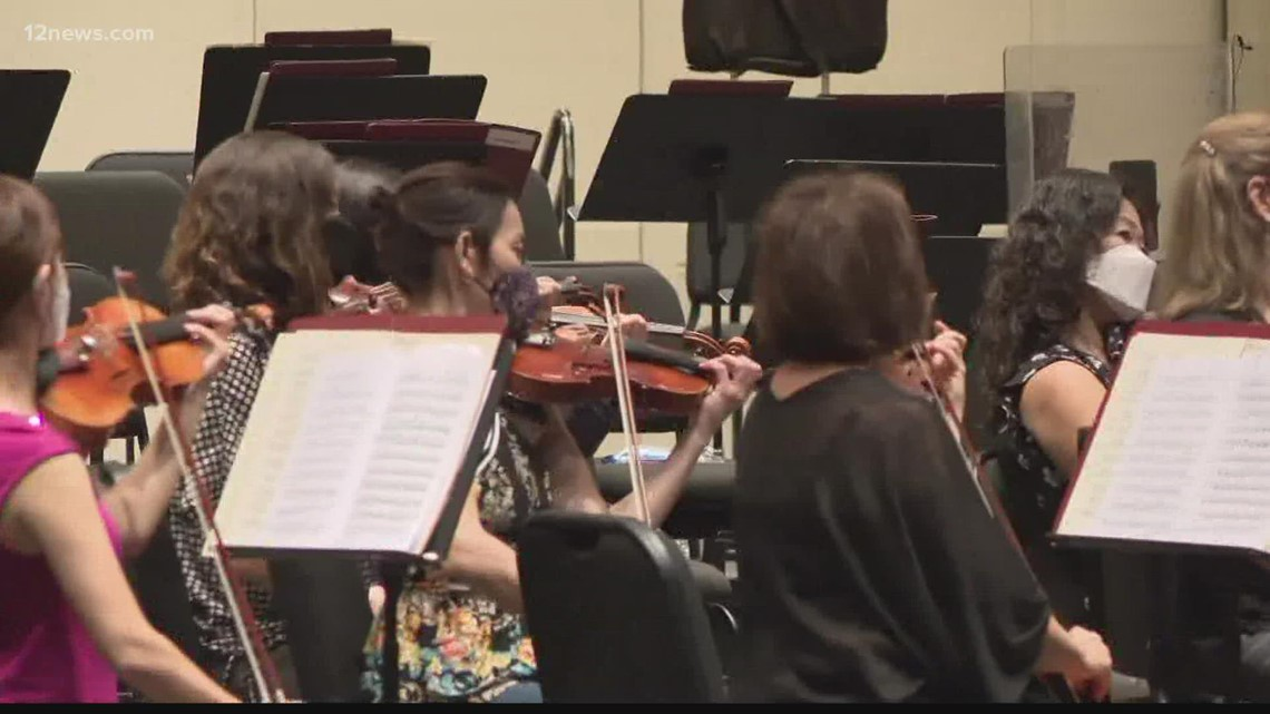 Phoenix Symphony celebrating 75th anniversary by returning in-person for first time in 18 months
