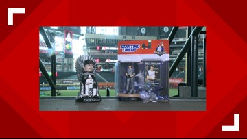 Se podría llevar un bobblehead de Game of Thrones, figurina de Randy Johnson con los D-backs este fin de semana