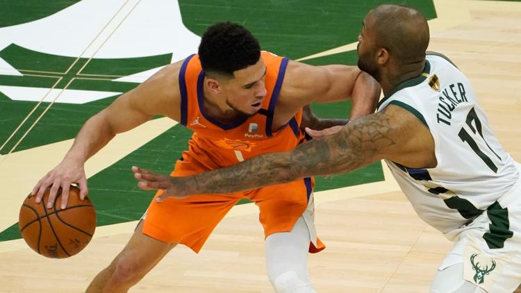 Suns fall 109-103 to Bucks in Game 4 of NBA Finals despite Booker's 42