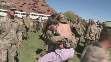 300 members of National Guard return to the Valley after year-long deployment