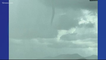 Wet weather, cold air funnel hit the Valley