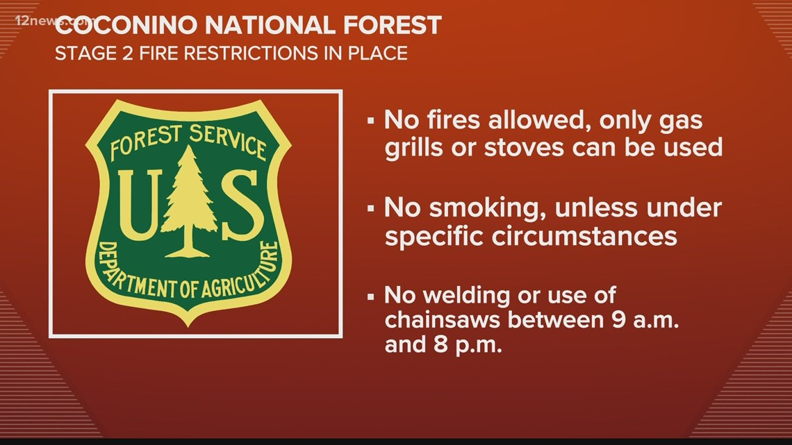 Coconino National Forest reopening with restrictions