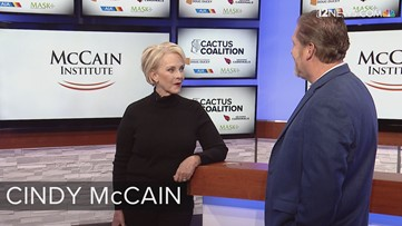 Cindy McCain joins the 12 News Cactus Coalition