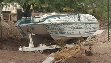 Rains bring flooding to Apache Junction homes