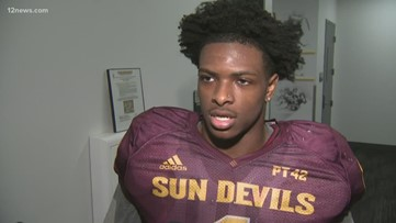 ASU freshman running back DeaMonte Trayanum settles into life on campus