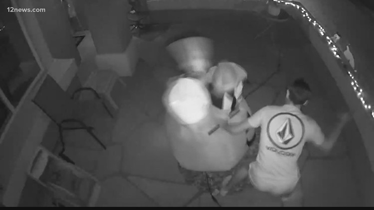Caught on Camera: Vandals wrecking Halloween decorations across the Valley