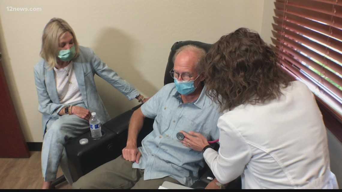 Gilbert clinic providing Alzheimer's drug and hope to a Valley family