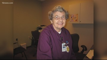 90-year-old Arizona woman retiring after more than 50 years of hospital volunteering