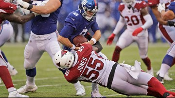 Chandler Jones named NFC Defensive Player of the Week after performance against Giants