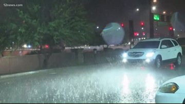 Monsoon storms hit the Valley