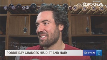 D-backs pitcher Robbie Ray cuts dairy, drops 15 pounds, grows out hair before Spring Training