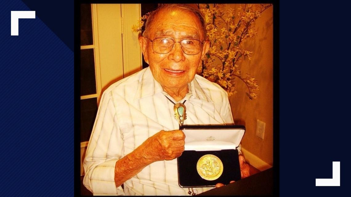 Navajo Code Talker Fleming Begaye, Sr. has died