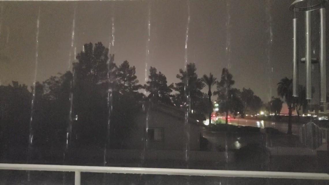 Finally rain!