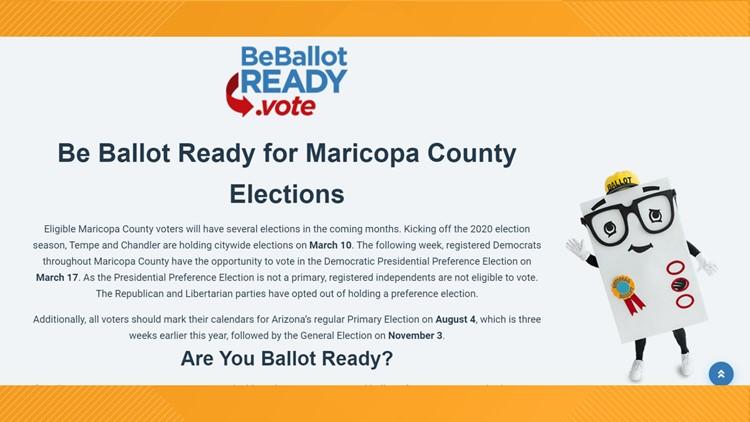BeBallotReady.Vote