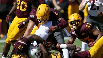 No. 18 Arizona State rallies to beat Washington State 38-34