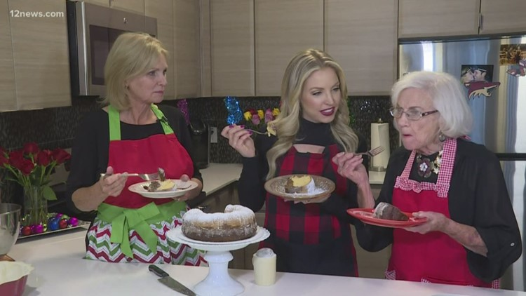 Kristen Keogh shares her family recipe for chocolate butterscotch cake