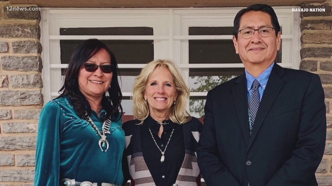 Dr. Jill Biden to visit Arizona Thursday to meet with Navajo Nation leaders