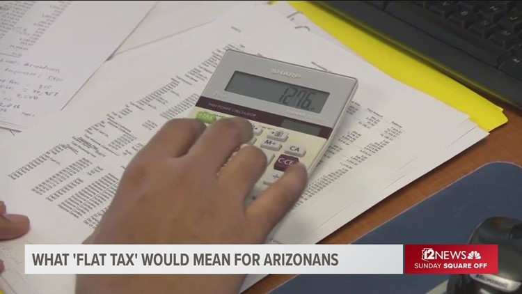 Who wins, who loses with a 'flat tax' in Arizona?