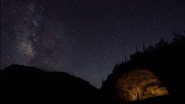 Tonto National Monument gets dark-sky designation for reducing its artificial light