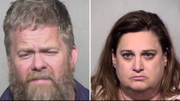 Gilbert couple arrested after wife accused of covering up husband's molestation