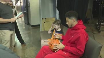 Phoenix Suns host special guest