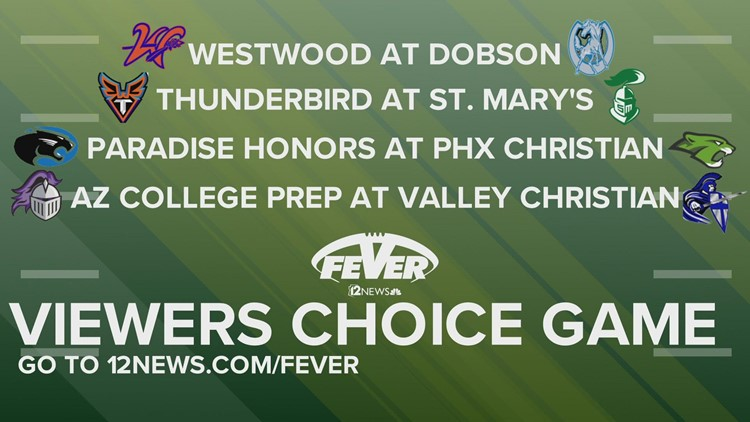Friday Night Fever Week 7 Viewers Choice Game Nominees